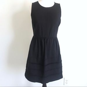 J. Crew Dark Navy Sleeveless Knit Sheath Dress